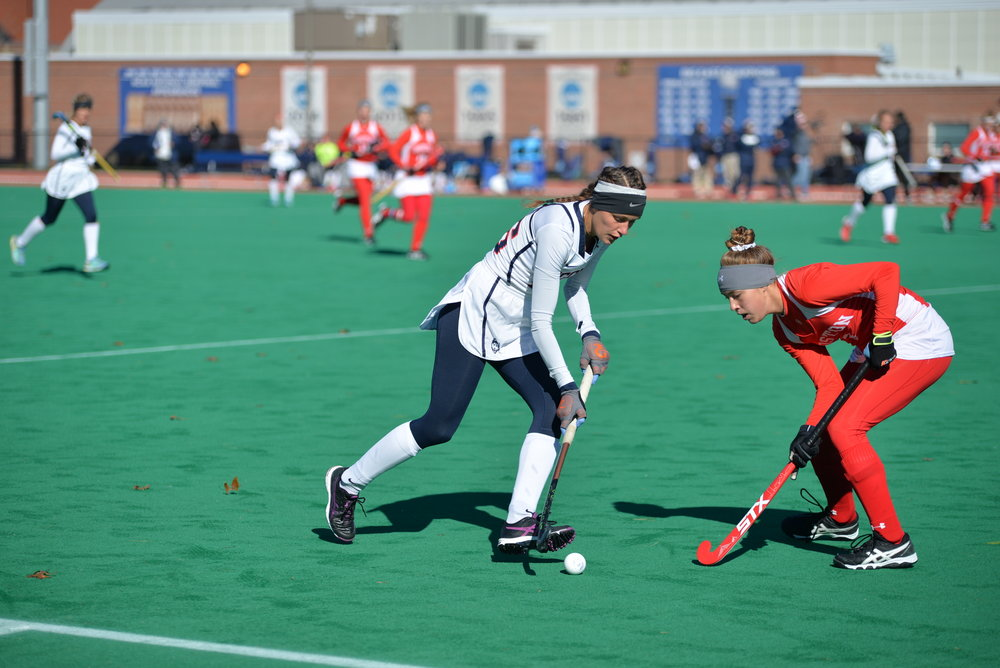 UConn Field Hockey won the NCAA Tournament Regional they hosted this weekend, advancing them to the Final Four (Amar Batra/The Daily Campus)