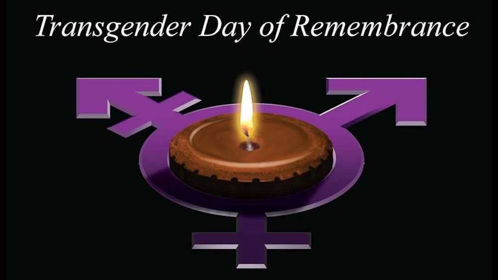 According to the statistics the Rainbow Center collected, 26 lives were lost to transphobic violence in the United States in the last year, and 325 lives were lost worldwide. (Photo courtesy of UConn's Rainbow Center)