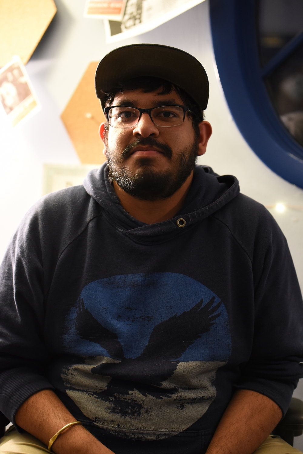 Amar Batra is a senior staff photographer and weekly columnist for The Daily Campus. (Charlotte Lao/The Daily Campus)