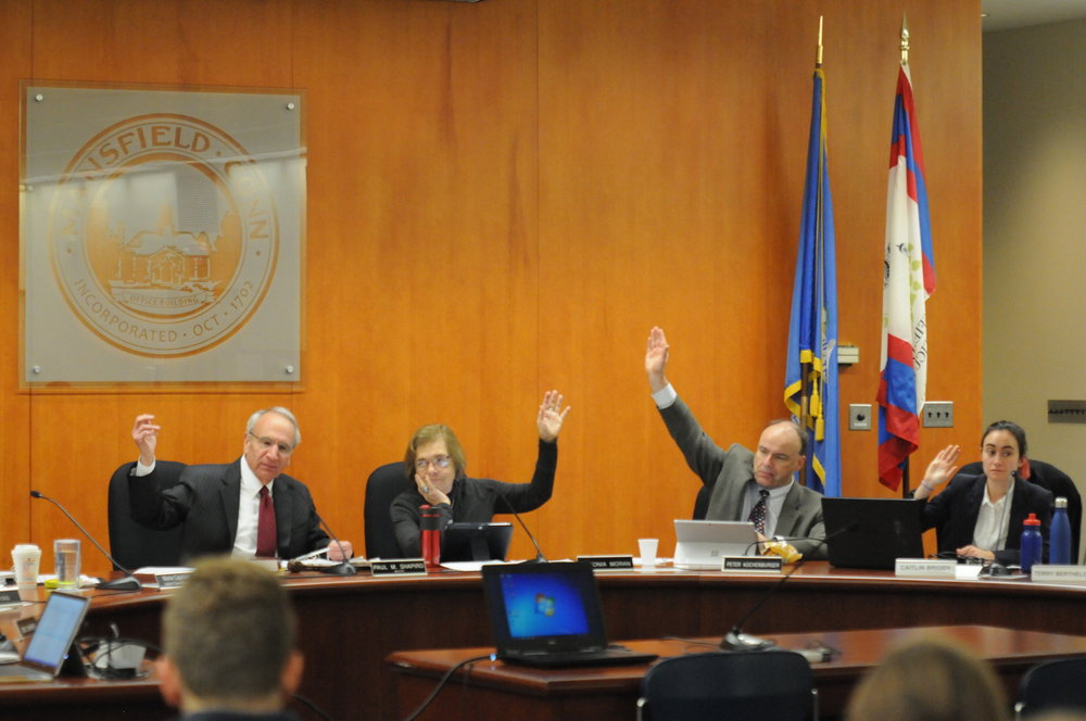 Last week's Election Day brought many new members to the Mansfield town council, shown above. (Olivia Stenger/The Daily Campus)