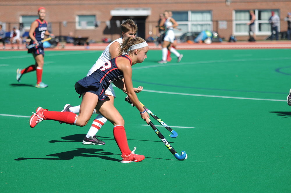 The UConn Huskies will take on the Maryland Terrapins for the NCAA Field Hockey National Championship Game Sunday at 2 p.m. (Alexis Taylor/The Daily Campus)