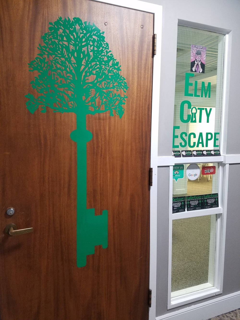 Elm City Escape is New Haven's brand new escape room. (Schae Beaudoin/The Daily Campus)