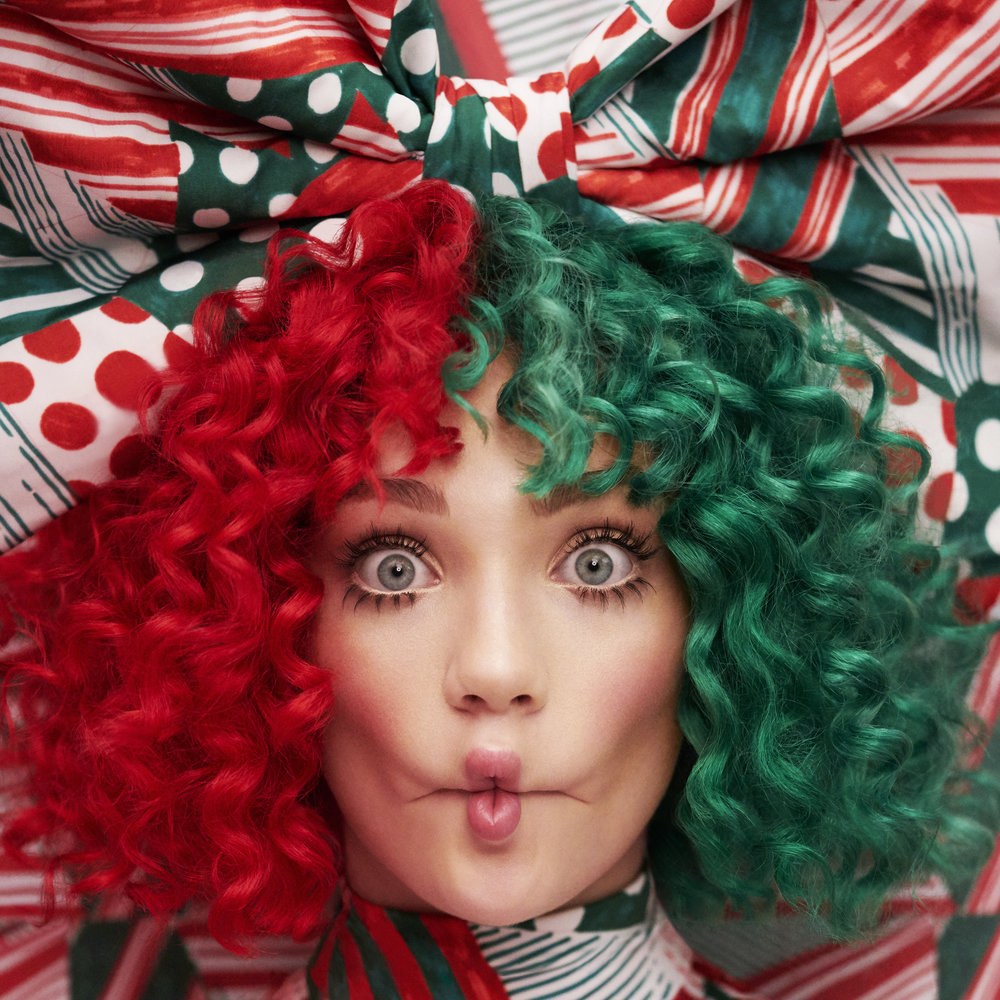 "This cover image released by Monkey Puzzle/Atlantic Records shows ""Everyday is Christmas,"" a holiday album by Sia. (Monkey Puzzle/Atlantic Records via AP)"