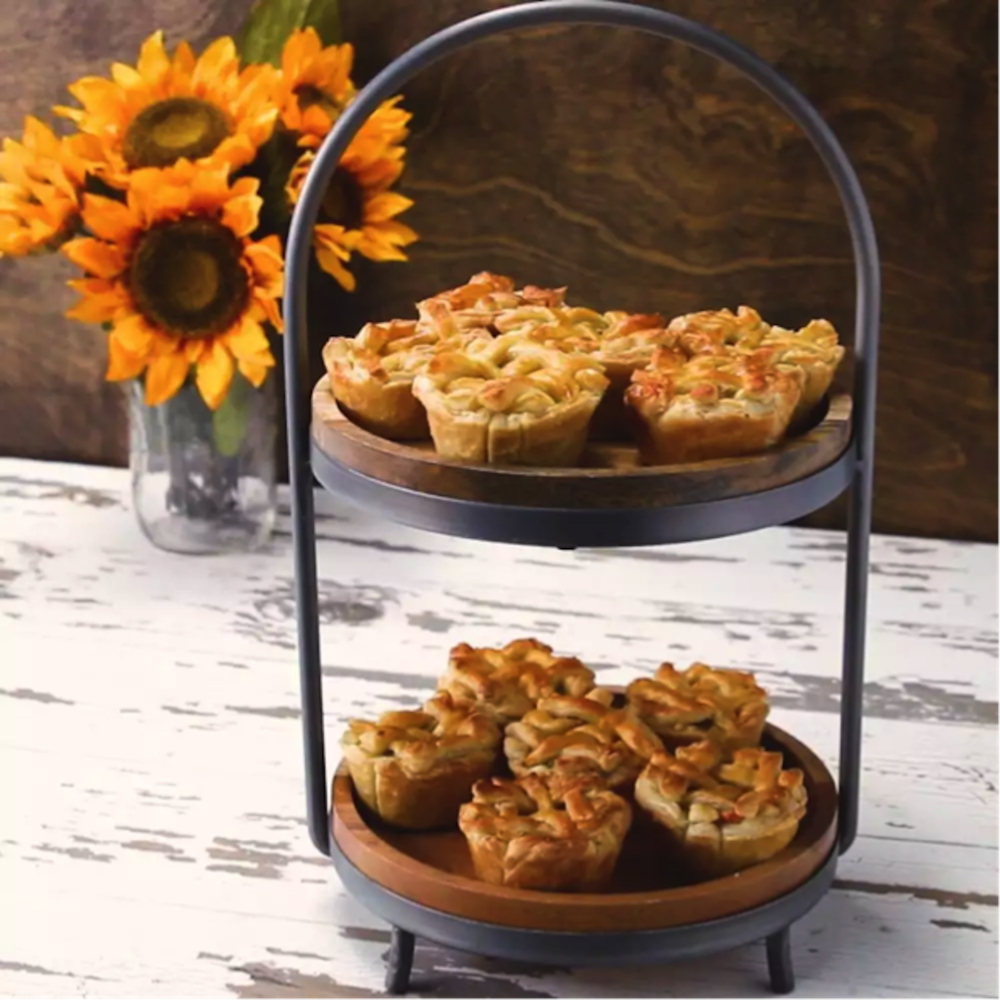 This week on Melissa's Menu the author shares her recipe for mini chicken pot pies. (Photo courtesy of Buzzfeed Tasty)