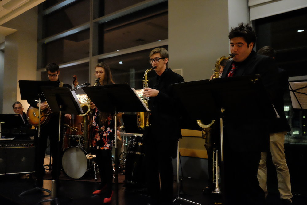 The Puerto Rican Latin American Cultural Center (PRLACC) sponsored a jazz festival on Monday, Nov. 27 to raise money to support efforts to rebuild in Puerto Rico after Hurricanes Irma and Maria. (Jon Sammis/The Daily Campus)