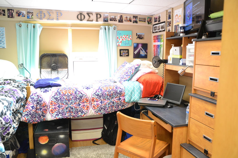 """I filled out the work order request online about my room being too cold,"" Foley said. ""The very same day they came into my room to fix the problem while I was in class."" (Olivia Stenger/The Daily Campus)"
