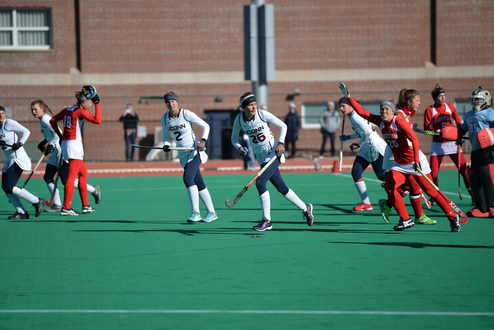 UConn Field Hockey versus Boston University (Amar Batra/ The Daily Campus)