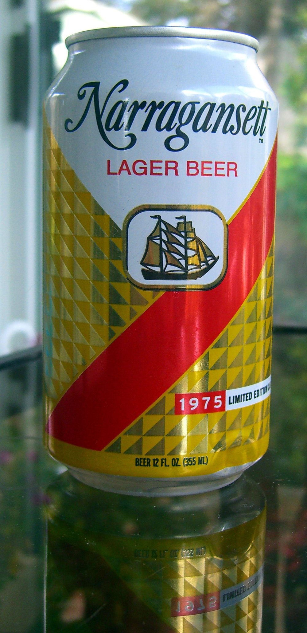 The final beer this week was Narragansett, a New England-brewed lager. The barley malt is noticeable in the aroma, which is a welcome change from some of the previous beers in this review. (walknboston/Flickr Creative Commons)