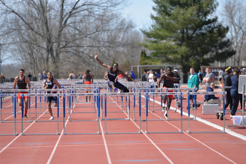 4/16/16 Track and Field meet. (Amar Batra/ The Daily Campus)