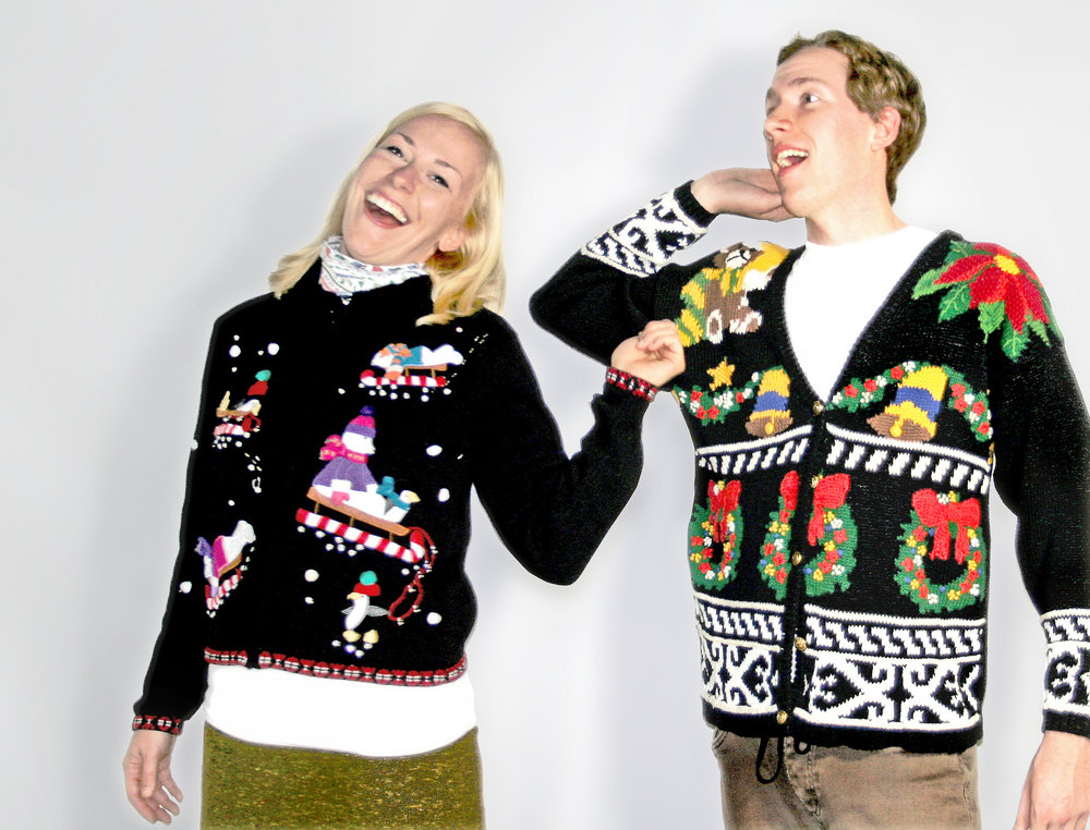 Even though you may have worn it to your eighth grade formal, it's all about how you wear it that makes a look work. (TheUglySweaterShop.com/Creative Commons)