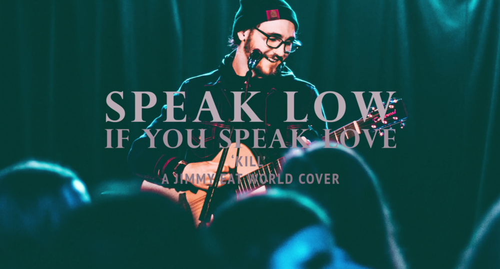 "Speak Low's sophomore album ""Nearsighted"" is out today. ""Contrasting Colors,"" the lead single off the album, contains the calm acoustic strumming and poetic lyrics of Ryan Scott Graham that defined Speak Low's first full-length ""Everything but What You Need."" (Screenshot via YouTube)"