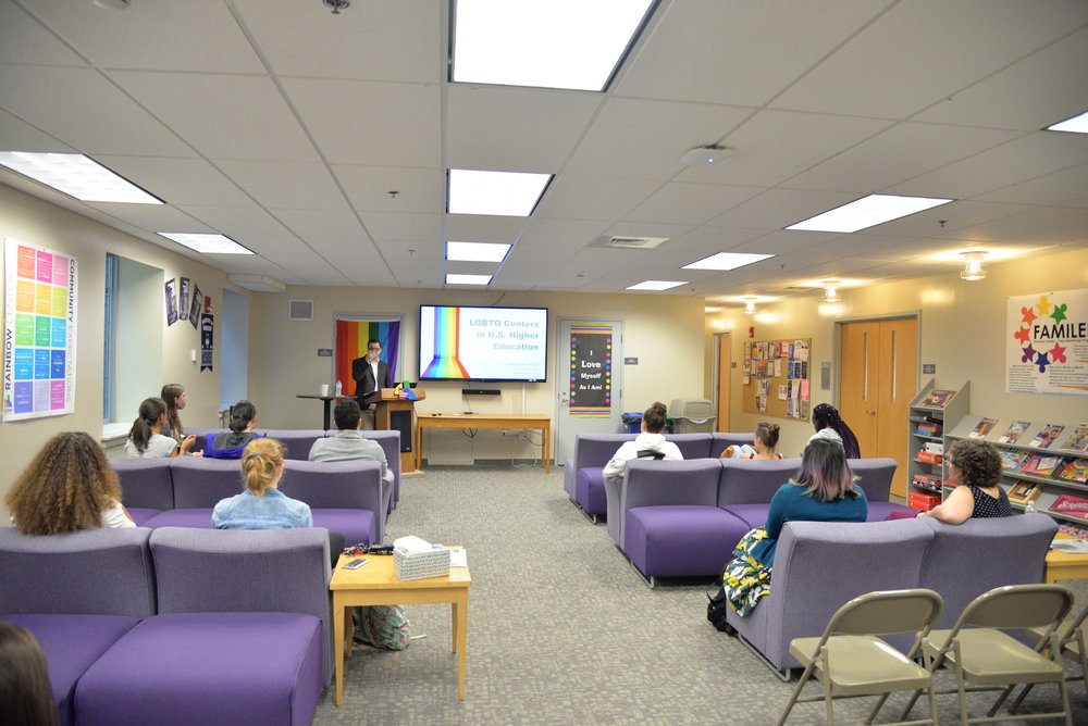 The Rainbow Center is one of several groups on campus that periodically provides HIV testing, as they did Monday, Jan. 22, 2017 from 5 to 8 p.m.