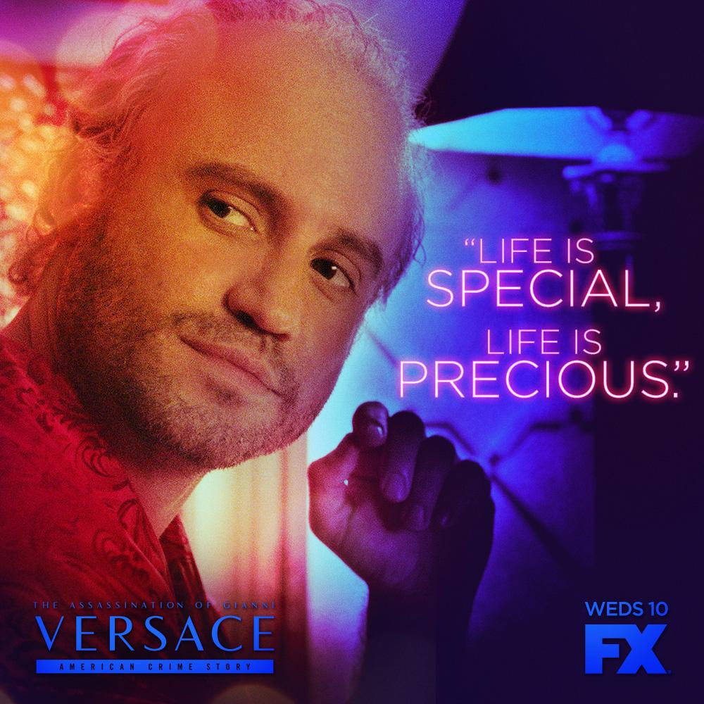 The show attempts to answer the questions of who or why someone would want Versace, a seemingly humble and brilliant creator, dead. (Twitter/@ACSFX)