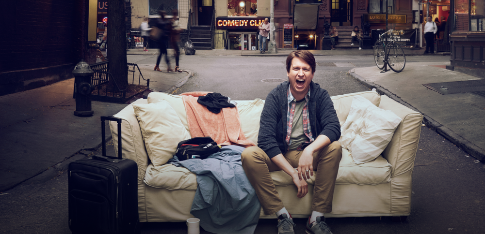 "Creator, comedian and star Pete Holmes is back for a second season of his well-received new show ""Crashing,"" which premiered on Jan. 14th. (screenshot/HBO)"