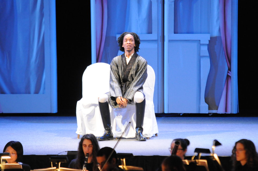 The UConn Opera program performed the Classic Cinderella Story: Cendrillion in Jorgensen Center for Performing arts on Sunday, Jan 28. The timeless classic is performed on stage with the assistance of the pit band. (Jon Sammis/The Daily Campus)