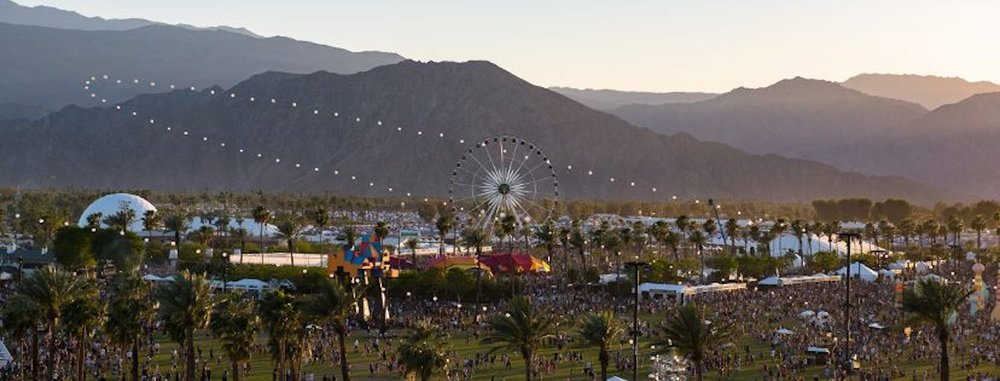 Many of the summer's biggest music festivals recently released their 2018 lineups, making festival season, and summer, seem closer than the harsh January weather makes it feel.(Photo courtesy of  Coachella's Facebook )
