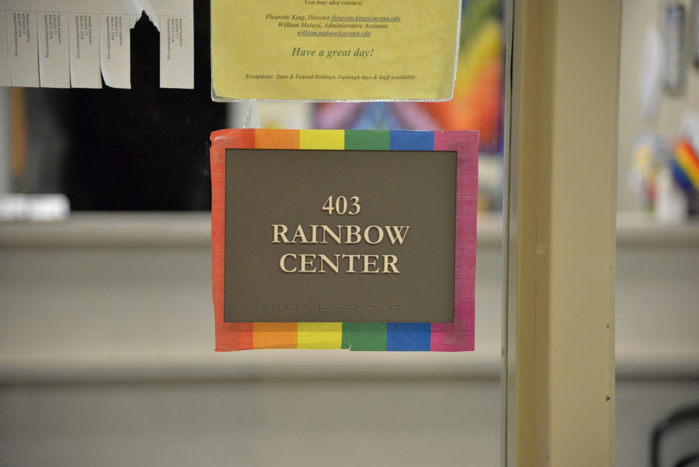 The University of Connecticut Rainbow Center offers Husky Safe Zone Training sessions to increase informed empathy of LGBT situations. (File photo/ The Daily Campus)