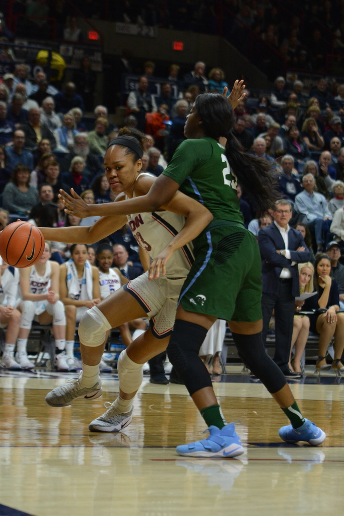 UConn handily defeated South Carolina on the road, 83-58. (Olivia Stenger/The Daily Campus)