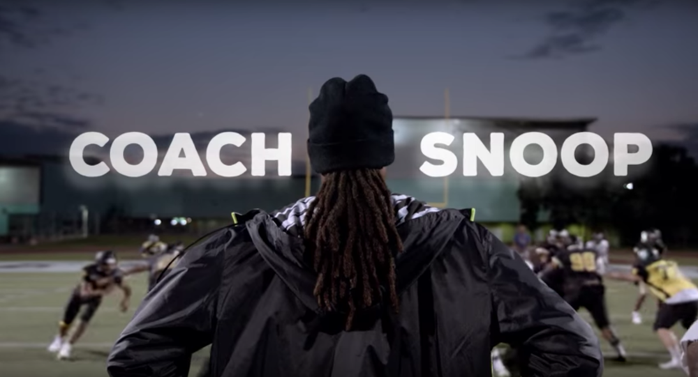 Snoop Dogg's Netflix show 'Coach Snoop' premiered in May 2016. The series follows Snoop Dog as he works to keep at-risk kids off the streets with sports. (Screenshot courtesy of the  official trailer )