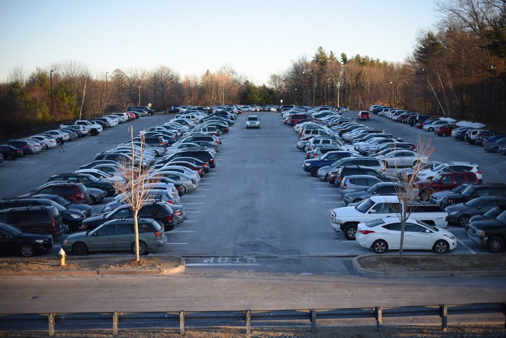 The parking situation on campus reflects the concepts of economic theory. (File Photo/The Daily Campus)