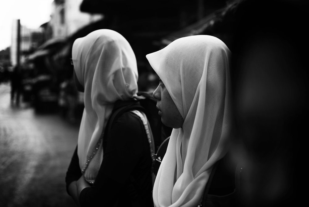 By definition, a hijab is meant to symbolize modesty mostly in the appearance of men and women in Islam. However, over time the term 'hijab' has grown to encompass much more than just the physical headscarf or covering that a person may wear. (Haifeez/Flickr Creative Commons)