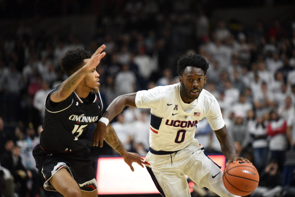 UConn and Wichita St. will tip off on Saturday, Feb. 10 at 6 p.m. EST. The game will be broadcast on ESPN2. (Charlotte Lao/The Daily Campus)