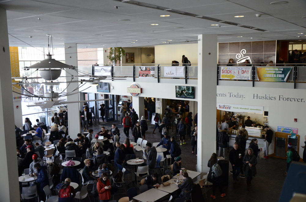 The Union Street Market in the Student Union will be featuring new pizza soon. (Charlotte Lao/ The Daily Campus)