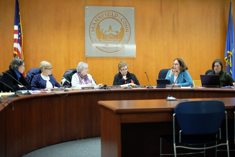 Mansfield Board of Education to pass new calendar following weather-related cancellations. (Jon Sammis/The Daily Campus)