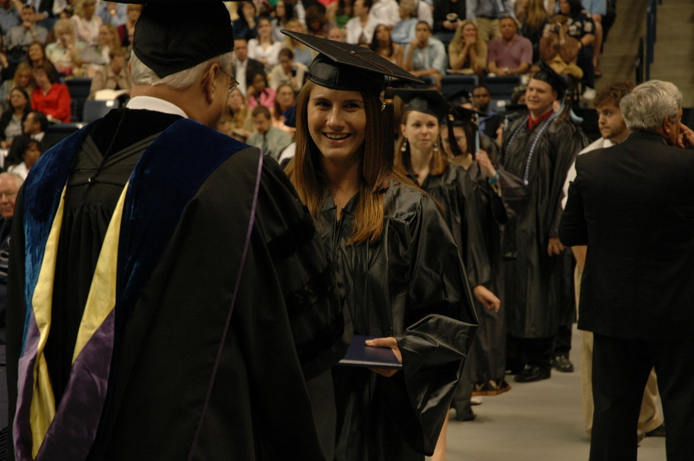UConn students receive their diplomas at graduation (File Photo/The Daily Campus)