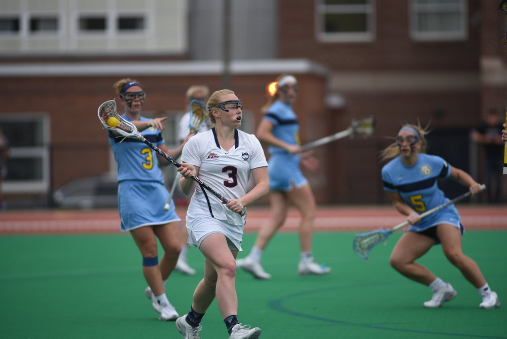 Women's Lacrosse had a tough opening defeat at Syracuse (Charlotte Lao/The Daily Campus)