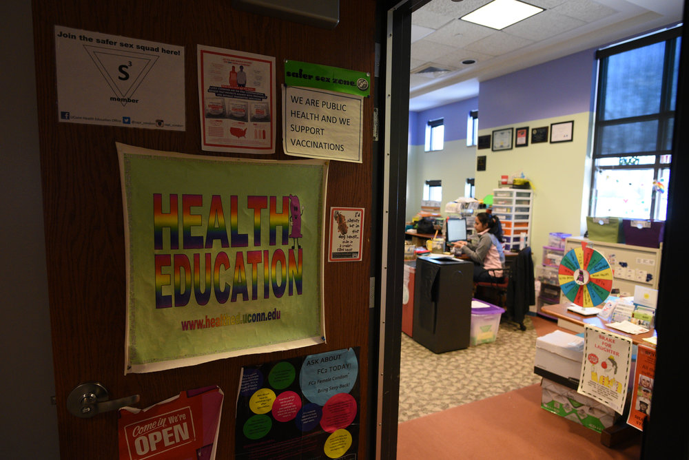 """Students can acquire contraceptive methods from Student Health Services (SHS)-clinical located near the Chemistry Building,"" associate director and health education coordinator Joleen Nevers said. ""They offer several methods including but not limited to hormonal, internal [female] and external [male] condoms."" (File Photo/The Daily Campus)"