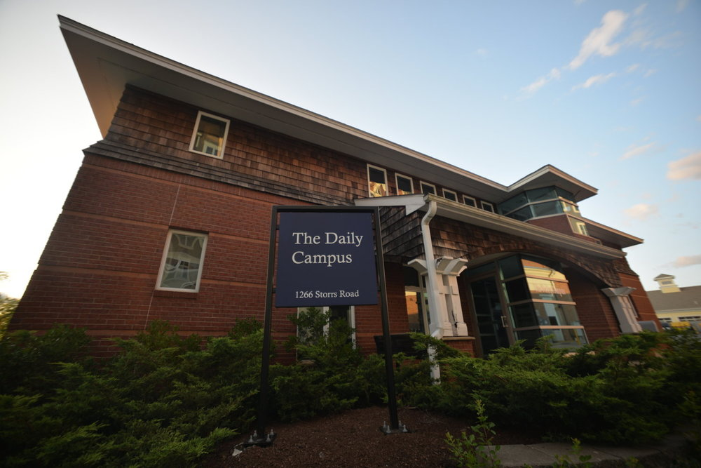 The Daily Campus building. (Olivia Stenger/The Daily Campus)