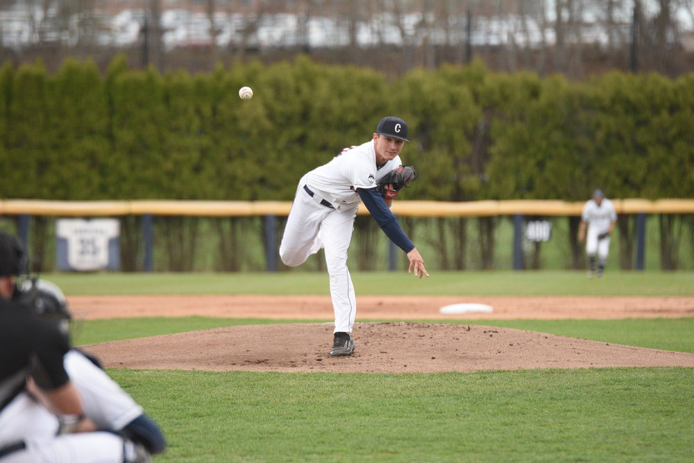 This weekend will be a good test for the Huskies' pitching staff and a good opportunity for the offense to establish its identity. (File/The Daily Campus)
