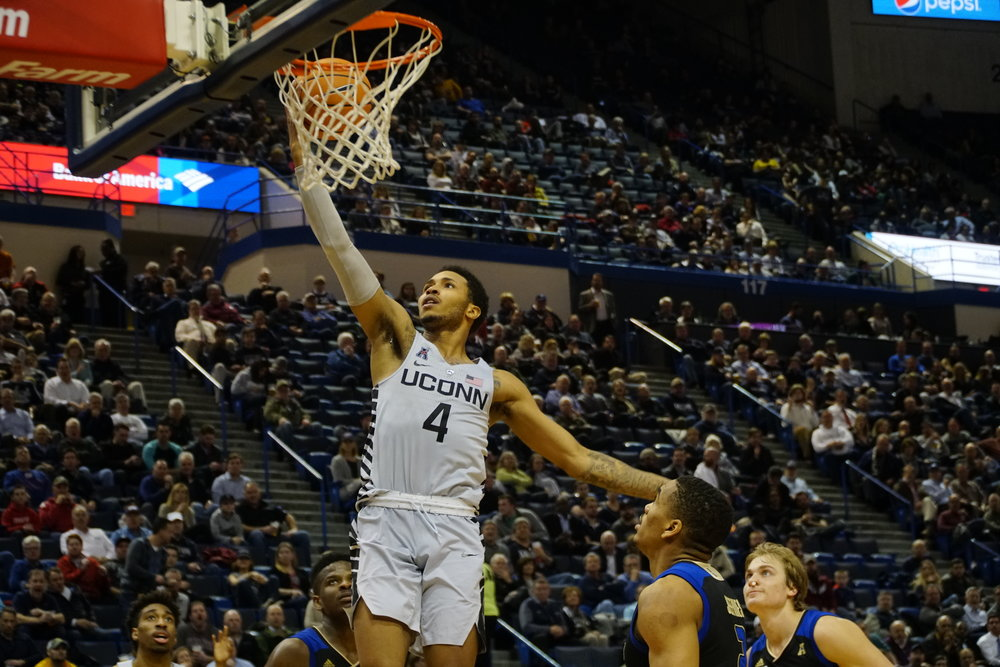 UConn returns to action Sunday afternoon on the road at East Carolina. (Eric Wang/The Daily Campus)