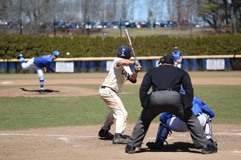 Baseball opened up with a pair of wins this weekend (Tyler Benson/The Daily Campus)
