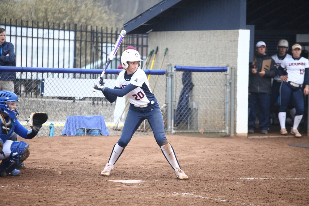 Emma Stanley and Softball went 2-2 in the Coastal Carolina Invitational (Tyler Benson/The Daily Campus)
