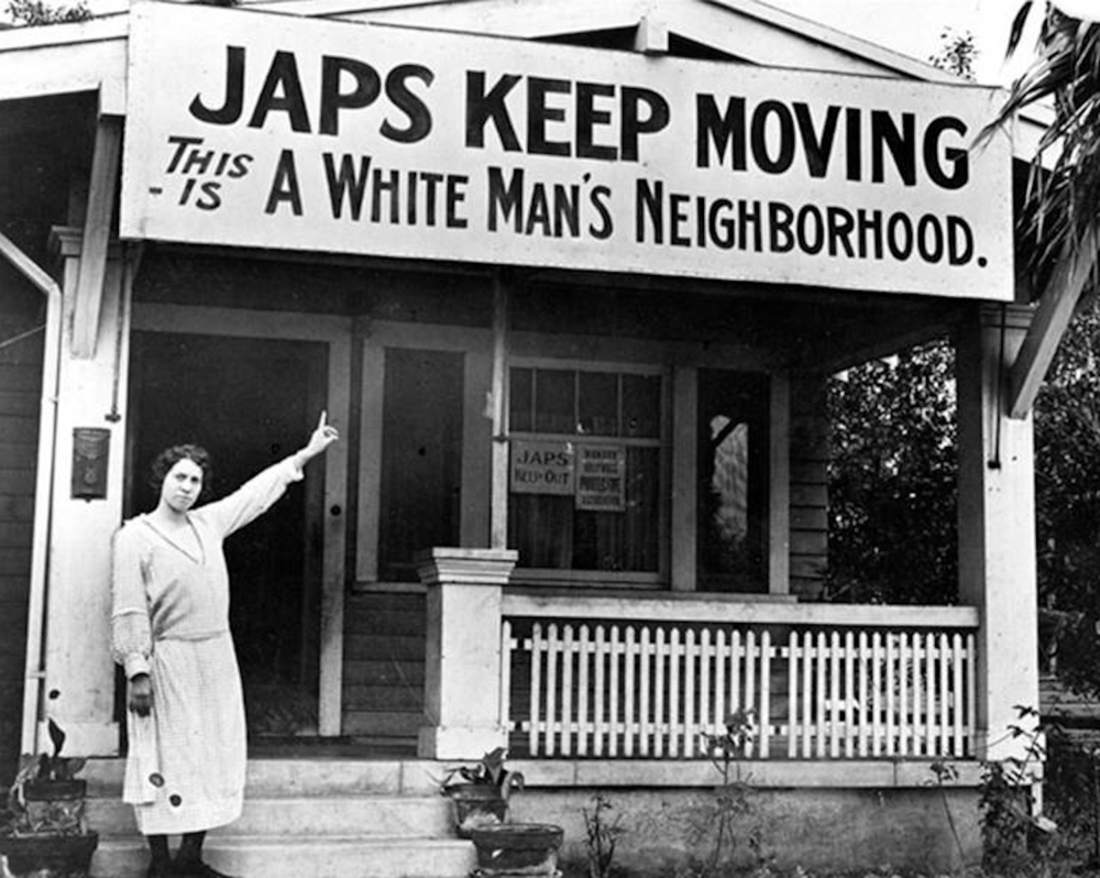 On Feb. 19, 1942 President Franklin Roosevelt signed an executive order that led the internment of over 100,000 Japanese-Americans across the country. (Screenshot courtesy of  18MR.org Twitter )