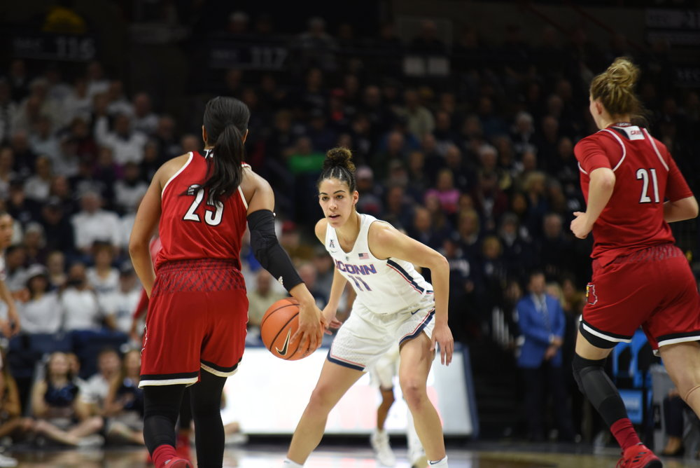 Kia Nurse missed the game at Tulane last year but should be good to go Wednesday (Charlotte Lao/The Daily Campus)