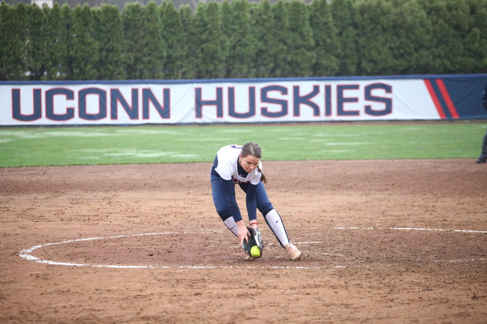 UConn will likely continue to rely on their top-notch pitching staff, which currently holds a 1.71 ERA along with a 65-16 strikeout-to-walk ratio and is holding opposing hitters to just a .192 batting average. (File/The Daily Campus)