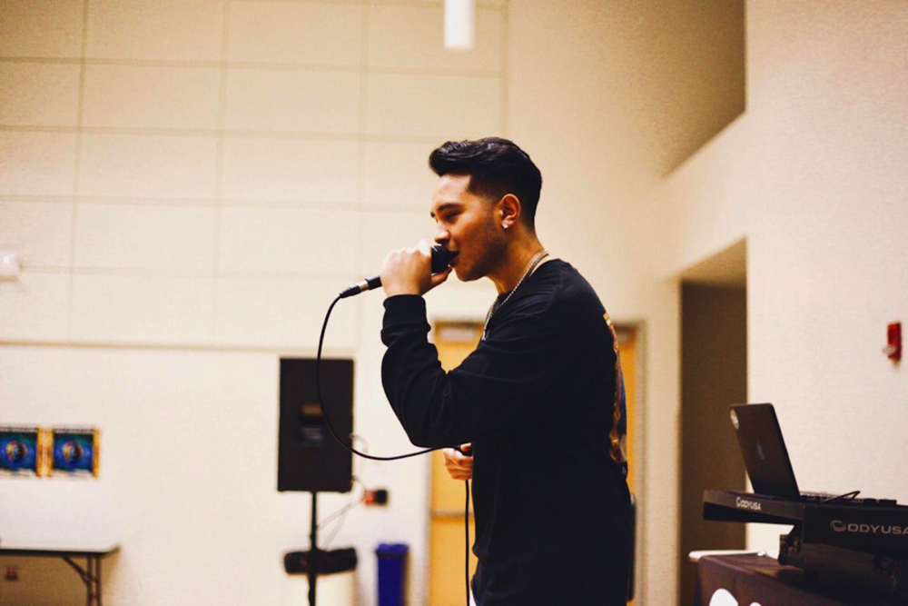 "UConn IDEA Grant recipient Julian Yuliawan's debuts EP ""Big Dreams"" on Saturday night at the Student Union Ballroom. (Teddy Craven/The Daily Campus)"