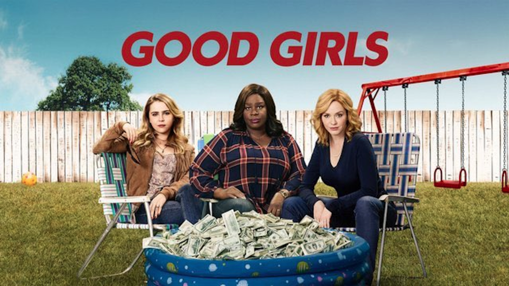 "NBC's new show ""Good Girls"" follows three moms struggling through various life challenges: a sick daughter, an affair and a custody lawsuit. Things get so desperate for the women that they turn a joke about robbing a grocery store into a reality in order to provide for their families financially. (Photo courtesy of  Ty DeMartino's Twitter )"