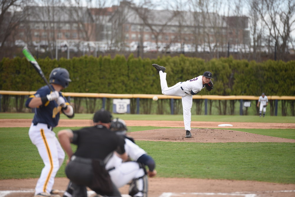 UConn baseball beats Quinnipiac University on April 17, 2017 at home with a final score of 4-3. (File Photo/The Daily Campus)