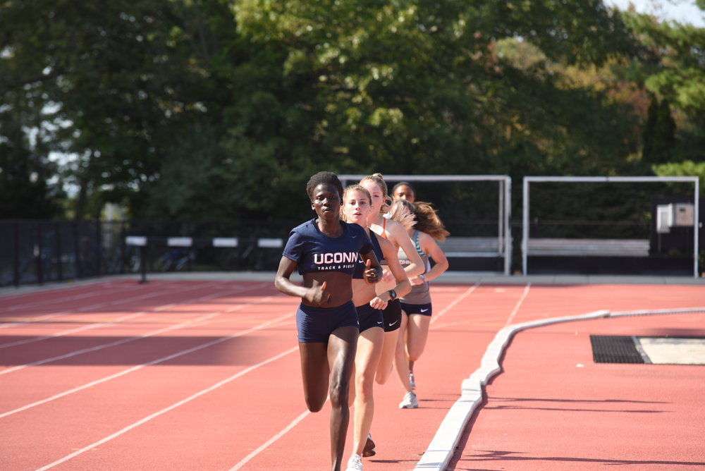 It's almost the outdoor track season for UConn (Charlotte Lao/The Daily Campus)