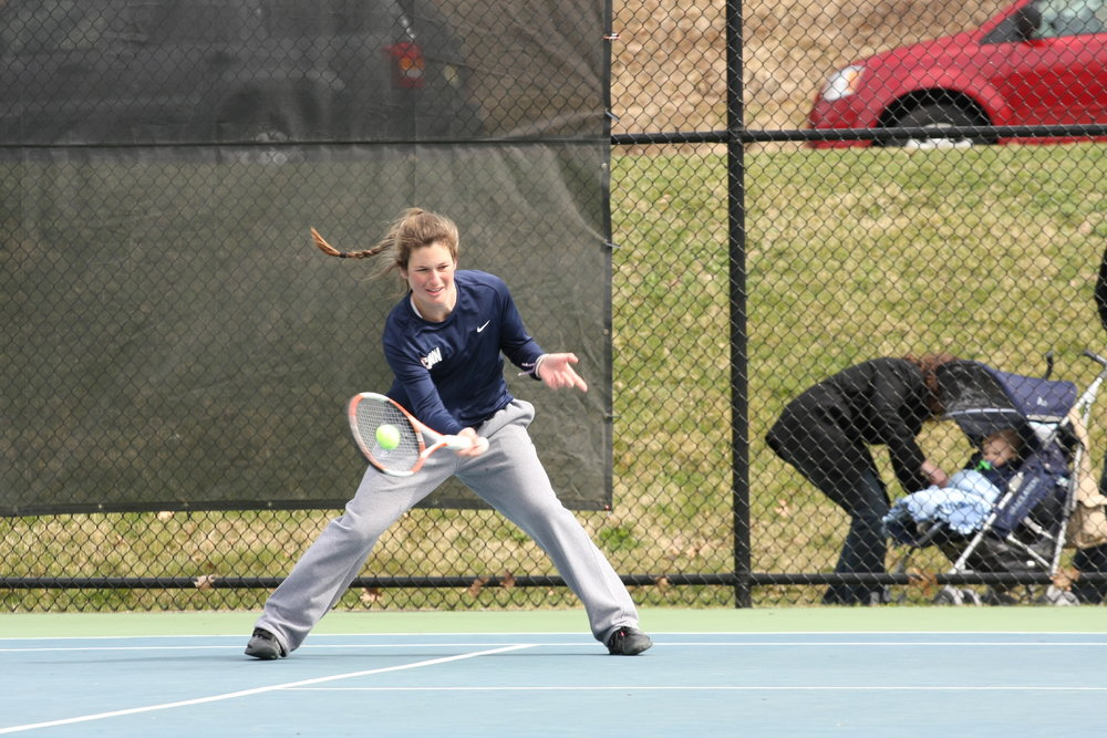 Tennis season is underway for the rest of the spring (File Photo/The Daily Campus)