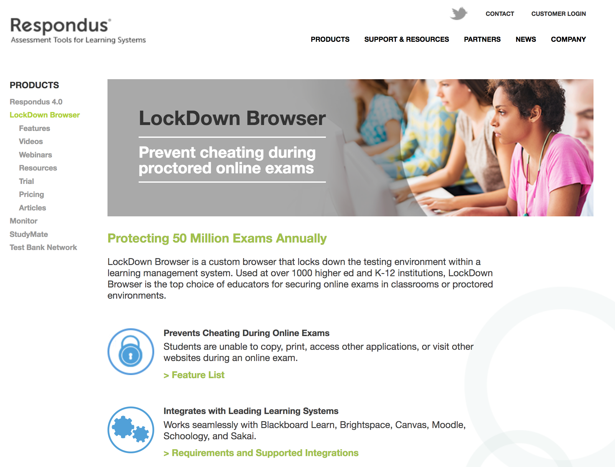 Cheaters Beware: New LockDown Browser prevents cheating on