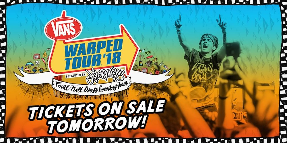 The final lineup was officially released last week and brought me back to a state of nostalgia, but more so, a state of disappointment. (Twitter/@VansWarpedTour)