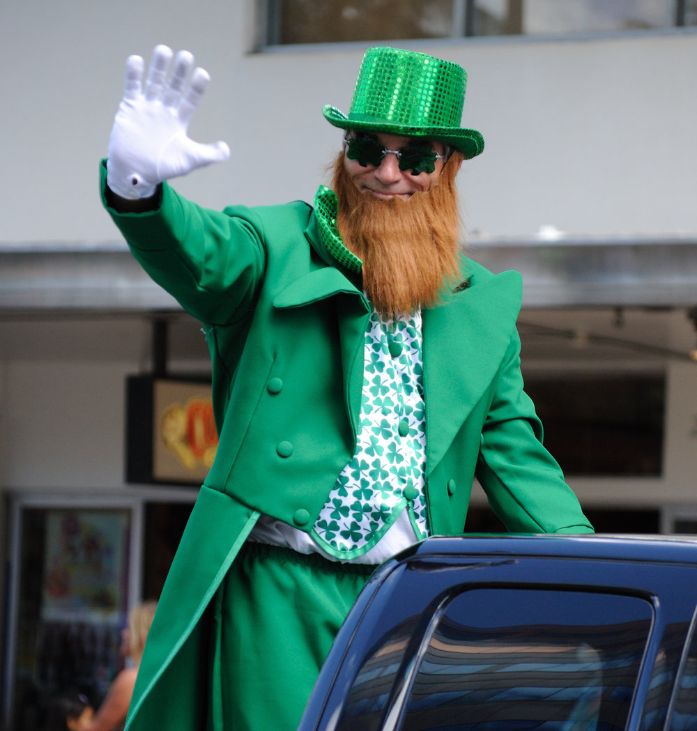 Parades are great and St. Patrick's Day parades are no exception. (Courtesy/Wikimedia Commons)