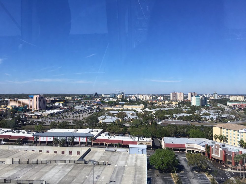 The view from the Orlando Eye. (Stephanie Sheehan/The Daily Campus)