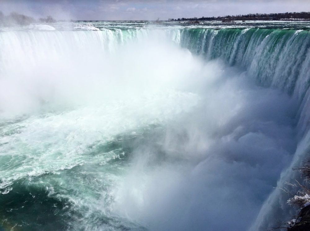 Niagara Falls is something you shouldn't miss when visiting Toronto. (photo provided by author)