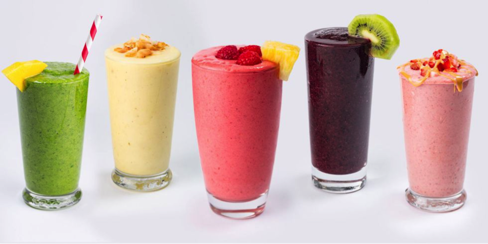 This week on Melissa's Menu are three homemade smoothie recipes packed with fruits and vegetables for a nutrient-filled, refreshing drink. (Photo courtesy of Delish.com)